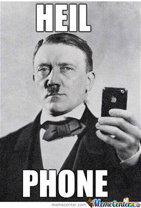 Hitler Reacts Meme - hitler s iphone by teeepeek meme center