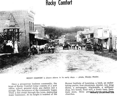 rocky comfort missouri photo album index barry co mo