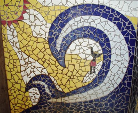 idea for tile art working costa rica surf travel feature artists