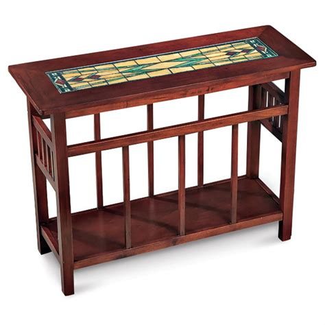 Stained Coffee Table Stained Glass Top Coffee Table 125603 Living Room At Sportsman S Guide