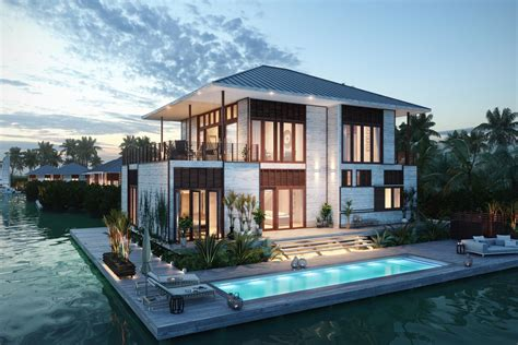 Belize Houses by Itz Resort Residences In Belize Breaks Ground