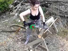 Saw Bench For Logs The Best Homemade Chainsaw Horse Ever Youtube