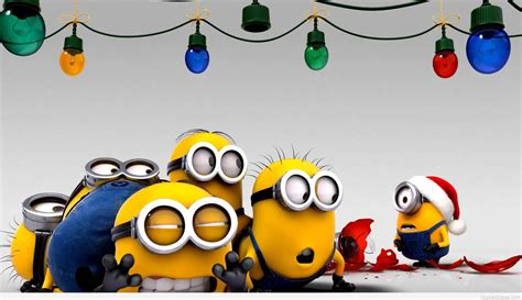 christmas minions wallpapers 16 wallpapers hd wallpapers