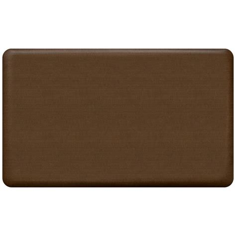 newlife comfort mat newlife designer grasscloth java 18 in x 30 in anti