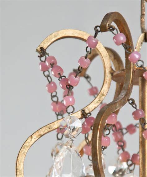 kronleuchter italienisch italienisch kronleuchter mit rosa opal perlen