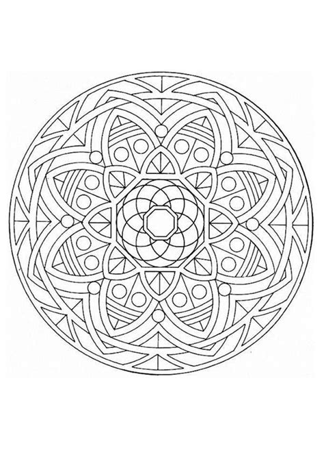 coloring pages mandalas for experts expert mandala coloring pages