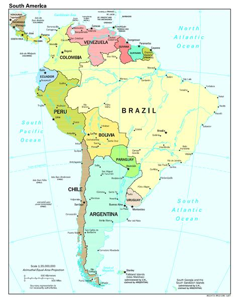 political map of south america political map of the south america south america planetolog