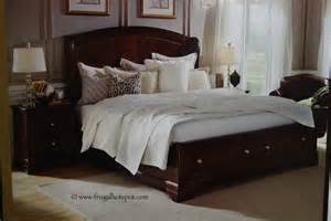 Bed Frames For Sale Costco Costco Sale Universal Furniture Lyndhurst Bed Frugal