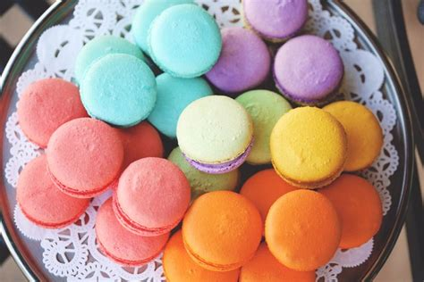 colorful macaroons colorful macaroons sinfully delicious