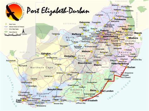 port elizabeth carte et image satellite