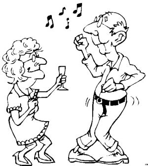 Altes Paar Tanzt Ausmalbild Amp Malvorlage Nordisch S Coloriage DanseuseL