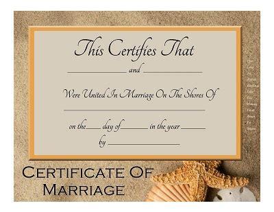 keepsake marriage certificate template 8 best images of free printable certificate free