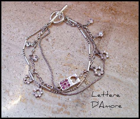 bracciale lettere bracciale lettere d gioielli bracciali e