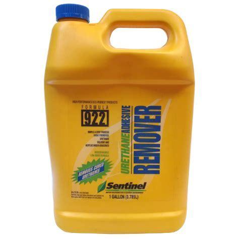 Sentinel 922 Urethane Adhesive Remover