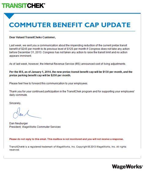 commuter benefits transit commuter tax benefits