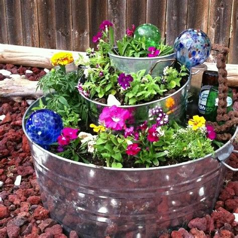 Pinterest The World S Catalog Of Ideas Stacking Planters Container Gardening
