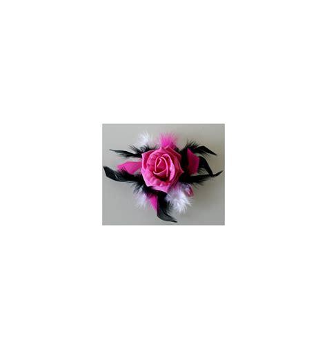Verre Pour Table 2862 d 233 coration verre 224 pied blanc fuchsia noir roses plumes