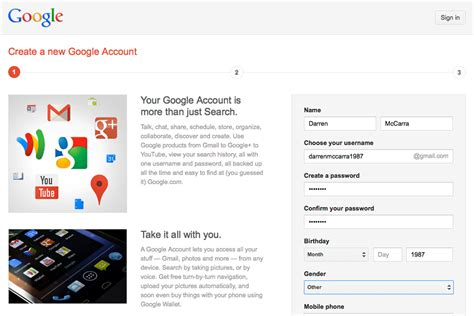 google sign up new google account sign ups are forced to join google