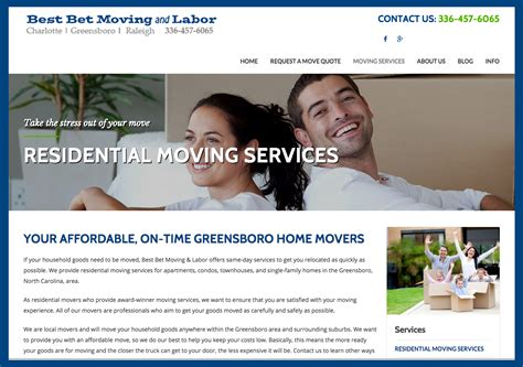 best bet website proud to announce the launch of best bet moving and labor