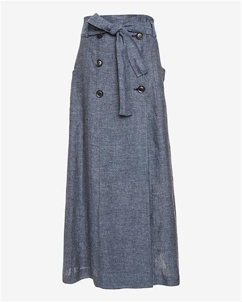 marissa webb alexina chambray sailor maxi skirt at