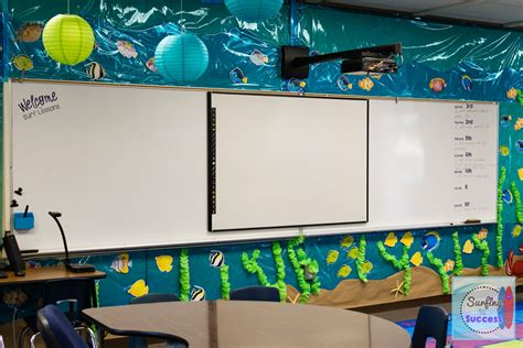 The Sea Classroom Decorations by Theme Classroom Surfing To Success