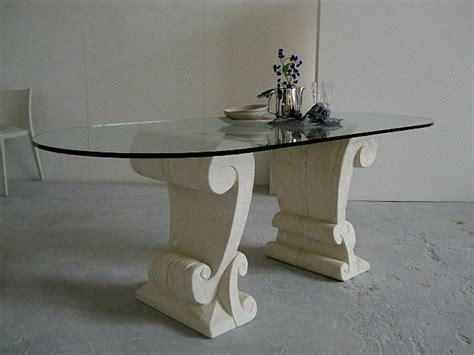 tavolo ovale cristallo tavolo da pranzo ovale in cristallo eliseo by stonebreakers