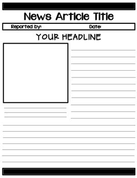 news report template read all about it news report templates