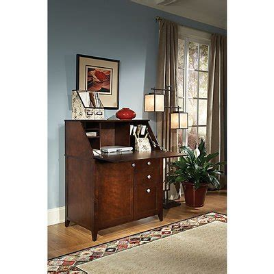secretary desk with file storage kathy ireland office by bush wayfair supply