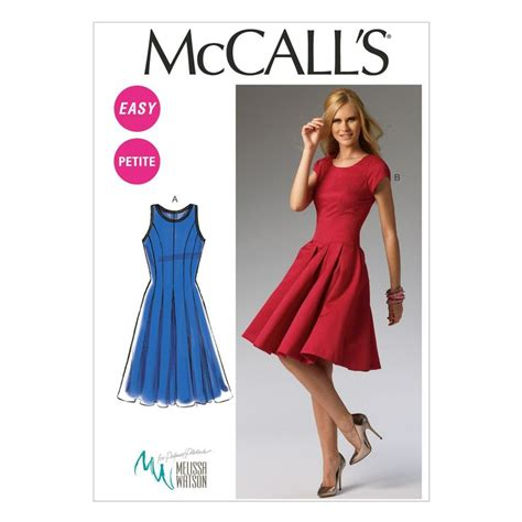 dress pattern 2 yards mccall s misses dress m6834 patterns craft and sewing