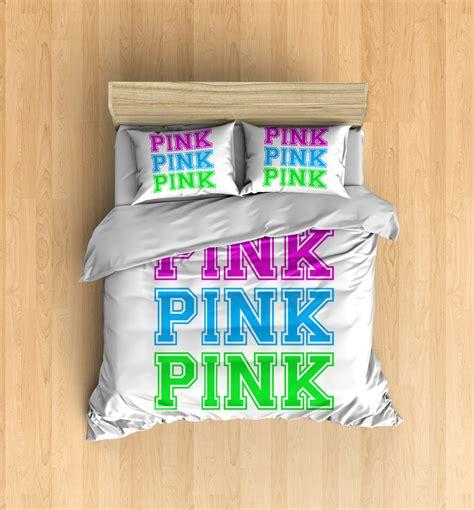victorias secret bedding pink duvet cover by designyland
