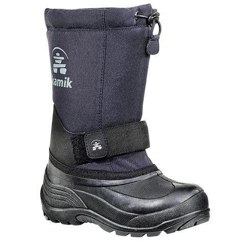 wide width snow boots kamik rocket wide width winter boots ebay