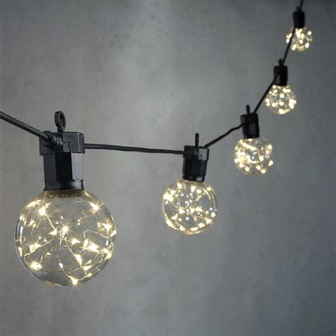 globe light string lights string lights decorative string lights
