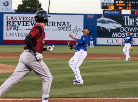 Friday The Catch by Sacramento Rallies To Knock 51s Las Vegas Review Journal