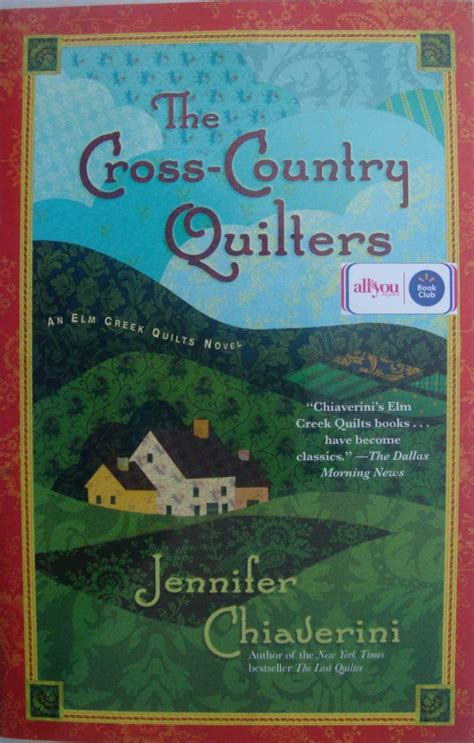 elm creek quilts novel the cross country quilters book by