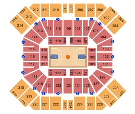 pan am center seating map pan american center tickets in las cruces new mexico pan