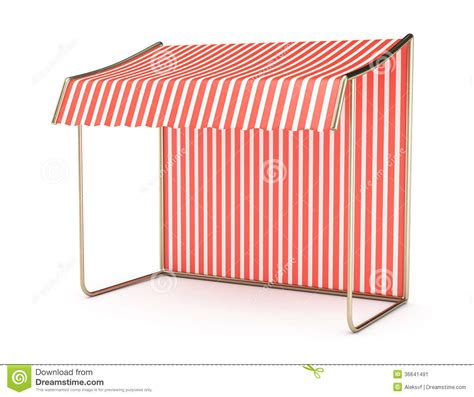 red and white striped awning striped awning stock image image 36641491