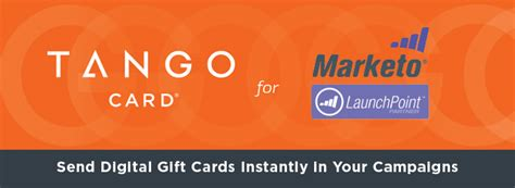 Tango Gift Card - upstart uses instant e gift card webhook for marketo