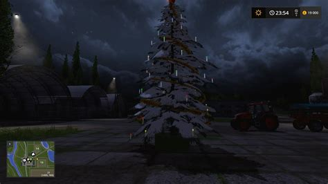 placeable christmas tree v1 1 for ls 17 farming