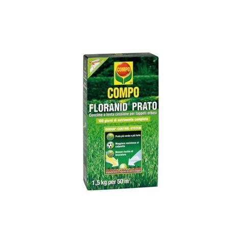 concime per tappeti erbosi compo floranid prato concime per tappeti erbosi kg 5