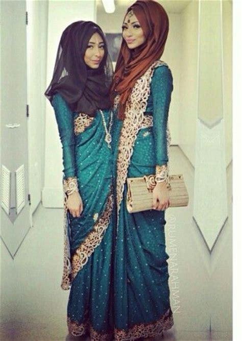 modest saree style designs  muslim women  chic