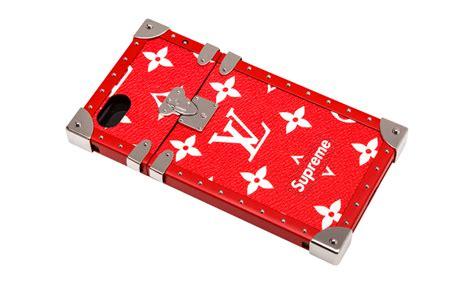 Supreme X Louis Vuitton Casing Iphone 5 6 7 8 Plus X Samsung S6 louis vuitton x supreme phone louis vuitton eye