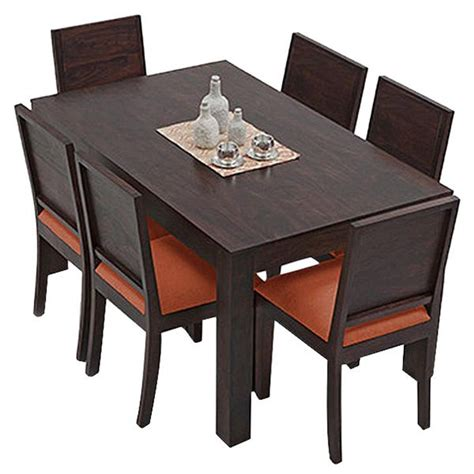 B Q Bistro Table And Chairs Ethnic India Vienna 6 Seater Sheesham Wood Dining Set With Table Buy Ethnic India