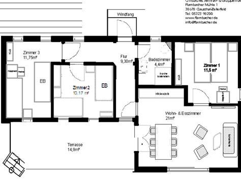 bungalow 4 schlafzimmer grundriss bungalow johannes niedersachsen harz clausthal