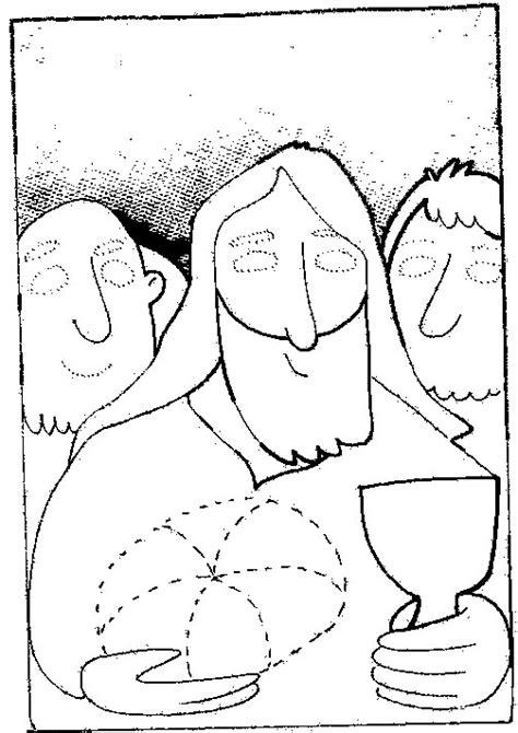 imagen de lunes santo para colorear semana santa