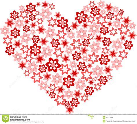 Fleur Sous Forme De Coeur Photos Libres De Droits Image