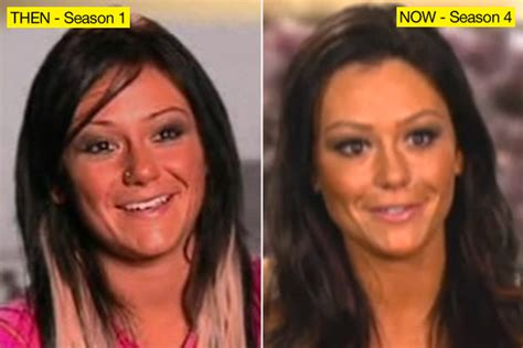 jenni jwoww before and after plastic surgery breast jenni quot jwoww quot farley and her scary face