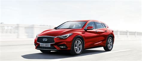 infiniti q30 luxury crossover own the road