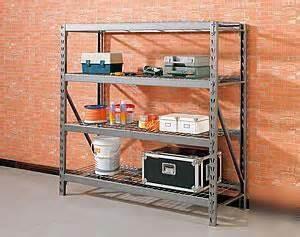 whalen storage industrial rack w wire deck