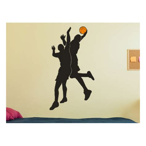 sports wall decals basketball players