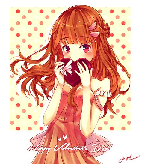 anime valentines happy s day speedpaint by yuriques on deviantart